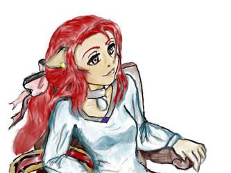 Rikku by toykofruit123