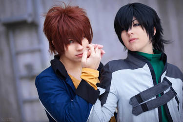 Holding you Dear by Naru-Cosplay