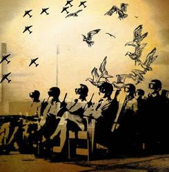 Birds In The Fourth Dimension by MasterOtakuSama