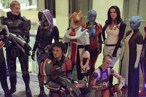 Mass Effect Group by idleambition