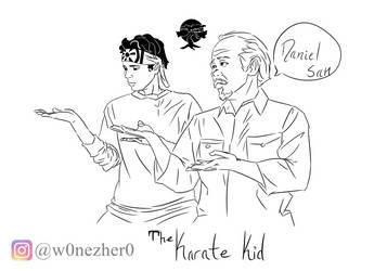 The Karate Kid - sketch - by Bonezkd