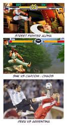 Street fighter vs Peru vs Arg by bbmbbf