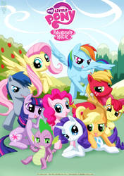 Friendship is Magic by bbmbbf