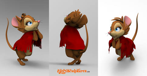 Mrs Brisby - figure concept by bbmbbf