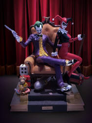 Joker and Harley Diorama by bbmbbf