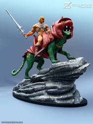 Filmation's He-Man - Figure by bbmbbf