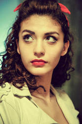 Rockabilly girl by Sophimew