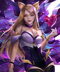KDA: Ahri by Jyundee