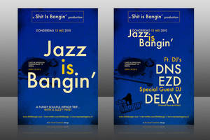 Jazz Is Bangin by DeGraafCreativity