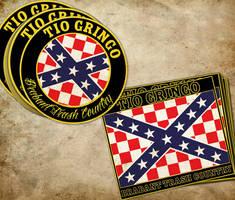 Tio Gringo Flag and Sticker by DeGraafCreativity