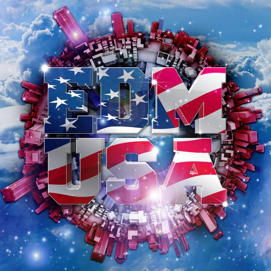 EDM USA Compilation by DeGraafCreativity