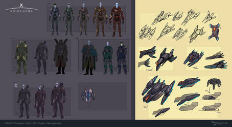Fleet Personnel - Concept Art by BacusStudios