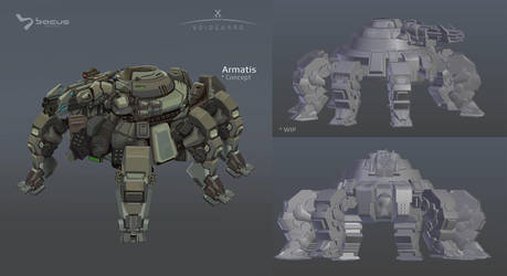 Armatis - from Concept to 3D by BacusStudios