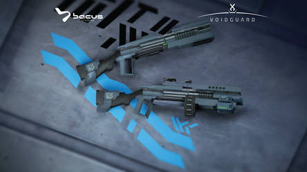 KIUm 0.1 Assault Rifle by BacusStudios