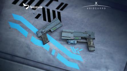 HBP 1030 hand gun by BacusStudios