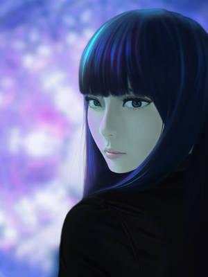 Death parade ( Chiyuki ) by twistedrhye