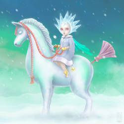 Lady of the Cold by twistedrhye