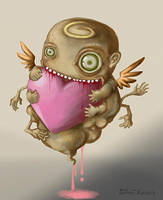 Valentine Eat Eat by polawat