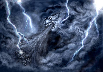 Storm Wolf by polawat