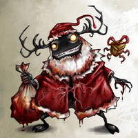 X'mas Fiend by polawat