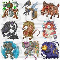 Petsite : Monster2 by polawat