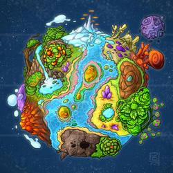 World Map by polawat