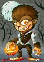 Wolfman Halloween by polawat