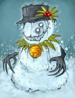 Snowman by polawat
