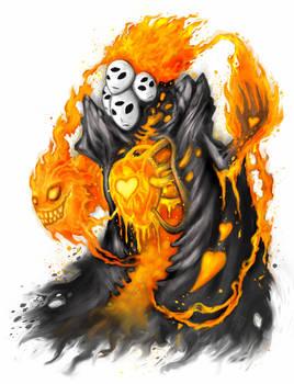 Burning Heart by polawat