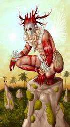 Tribal Santa by polawat