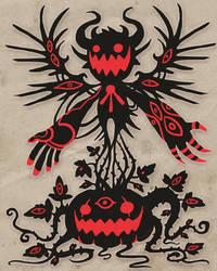 Dark matter : Halloween by polawat