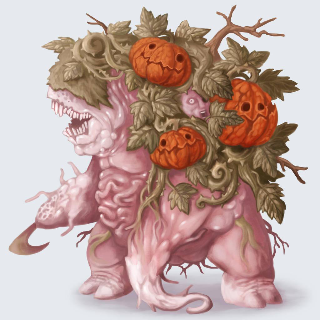 Pumpkin Abomination by polawat