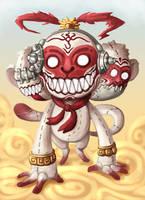 Doll Devil : 3 Wise Monkey by polawat
