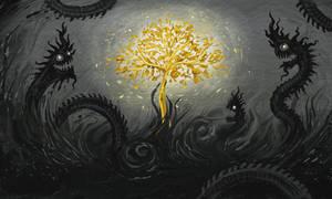 Tree of light by polawat