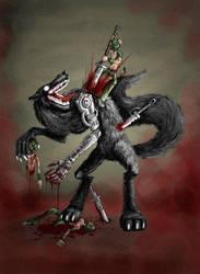 Big Bad Wolf by polawat