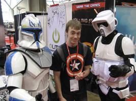 Commander Rex Speeder Trooper by wfbarton