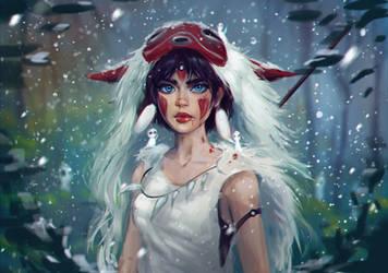 Mononoke by IndiCreates