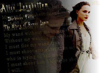 Alice Longbottom by pinkslip519