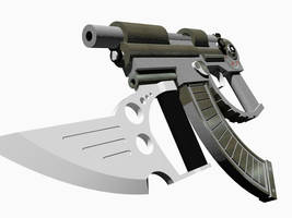 Shortbow SMG by orcbruto