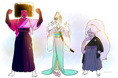 Kimono Gems by Glasmond