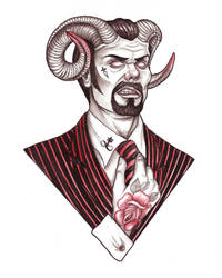 Demon Dude by MyHedHertz