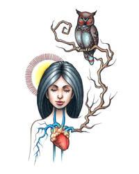 Owlgirl by MyHedHertz