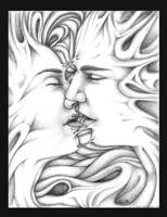 the kiss. by MyHedHertz