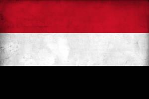 Grunge Flag of Yemen by pnkrckr