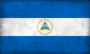Grunge Flag of Nicaragua by pnkrckr