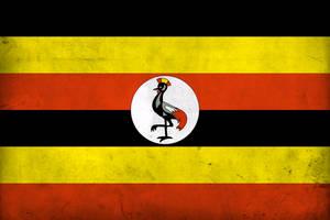 Grunge Flag of Uganda by pnkrckr