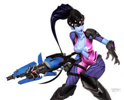 Widowmaker - Commission by Indofrece