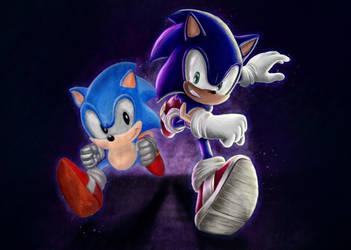 Sonic Generations by artistsstrive