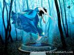 Blue Angel by Dye-Evolve