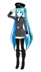 Lat Miku Military - Reporting in by MetroidMan64